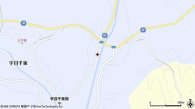 大分県佐伯市宇目大字千束2052周辺の地図