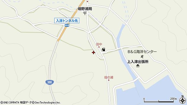 大分県佐伯市蒲江大字畑野浦577周辺の地図