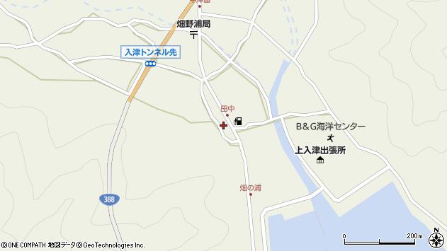 大分県佐伯市蒲江大字畑野浦602周辺の地図