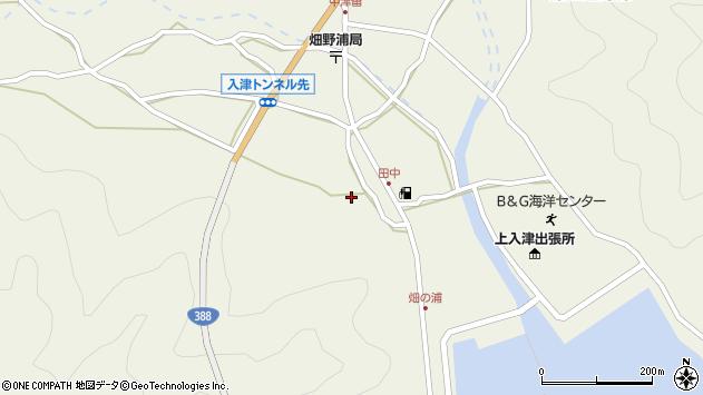 大分県佐伯市蒲江大字畑野浦571周辺の地図
