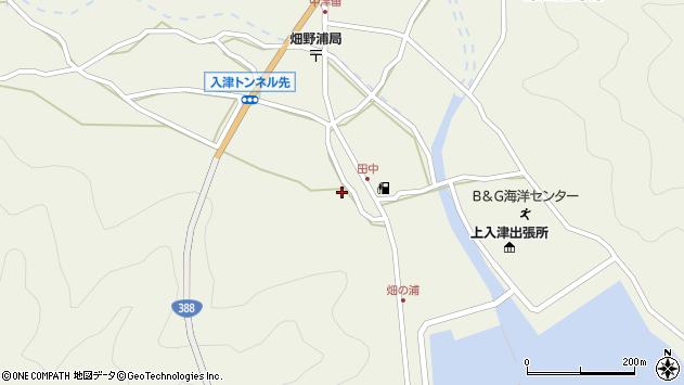 大分県佐伯市蒲江大字畑野浦575周辺の地図