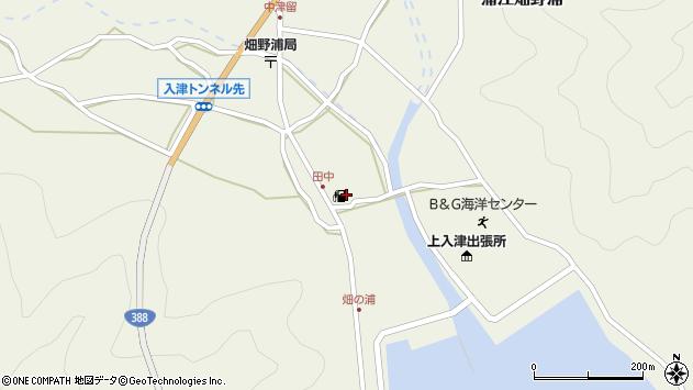 大分県佐伯市蒲江大字畑野浦640周辺の地図