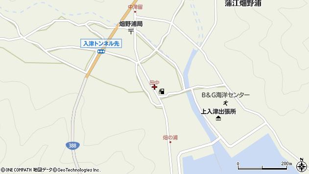 大分県佐伯市蒲江大字畑野浦607周辺の地図