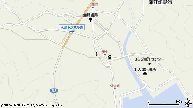 大分県佐伯市蒲江大字畑野浦543周辺の地図