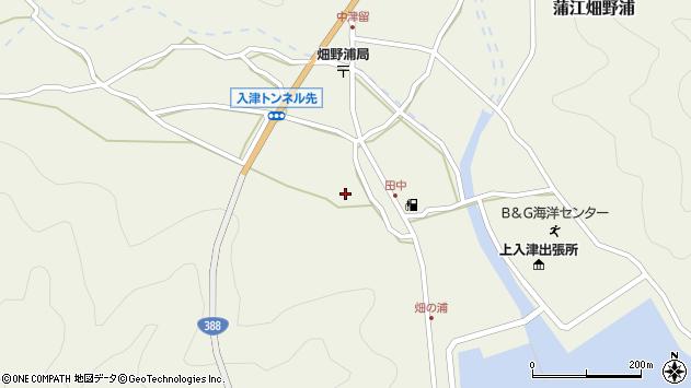 大分県佐伯市蒲江大字畑野浦547周辺の地図