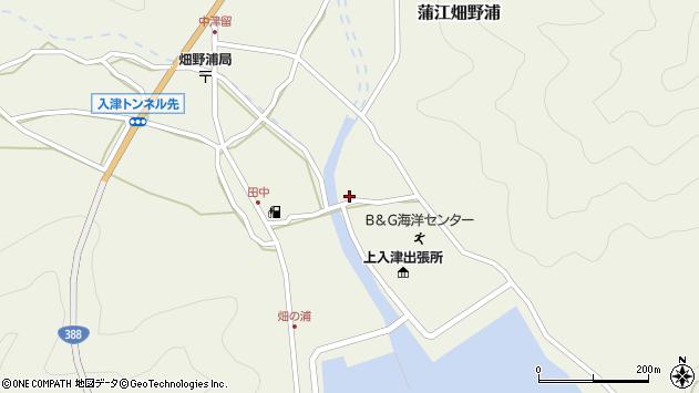 大分県佐伯市蒲江大字畑野浦2522周辺の地図
