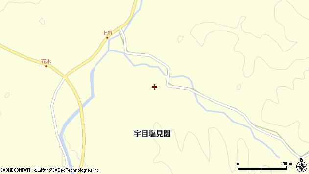 大分県佐伯市宇目大字塩見園2337周辺の地図