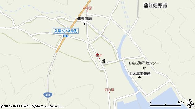 大分県佐伯市蒲江大字畑野浦634周辺の地図