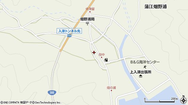大分県佐伯市蒲江大字畑野浦615周辺の地図
