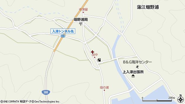 大分県佐伯市蒲江大字畑野浦612周辺の地図
