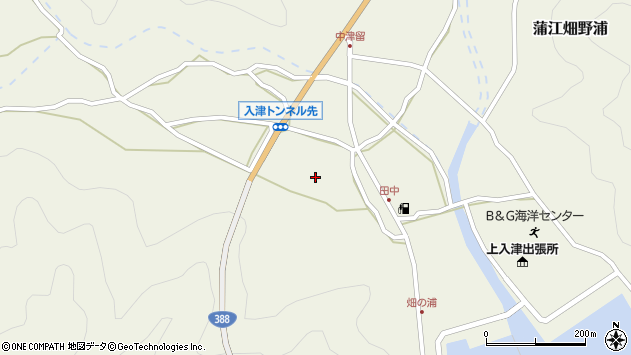 大分県佐伯市蒲江大字畑野浦681周辺の地図