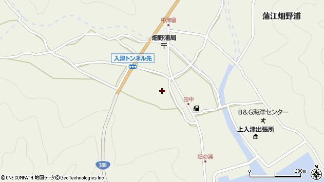 大分県佐伯市蒲江大字畑野浦539周辺の地図