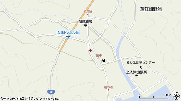 大分県佐伯市蒲江大字畑野浦617周辺の地図
