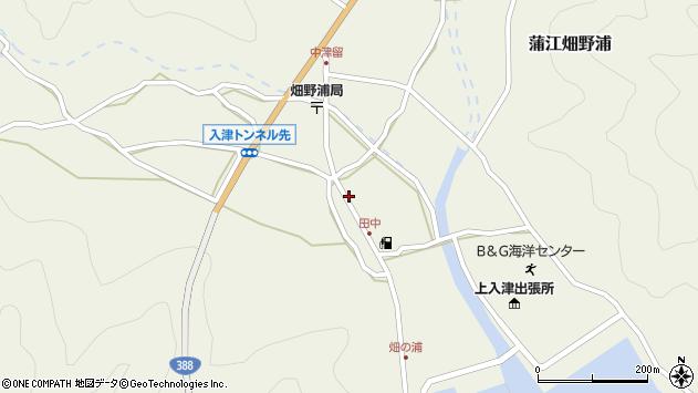 大分県佐伯市蒲江大字畑野浦619周辺の地図