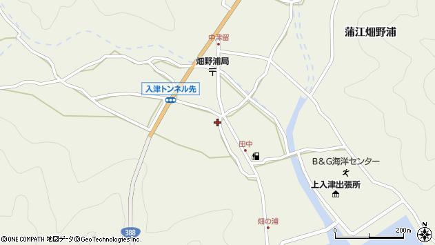 大分県佐伯市蒲江大字畑野浦670周辺の地図