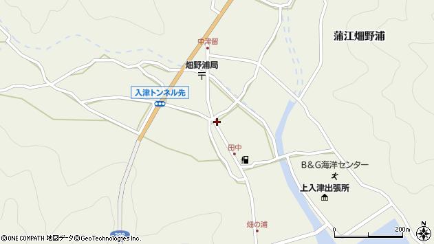大分県佐伯市蒲江大字畑野浦620周辺の地図