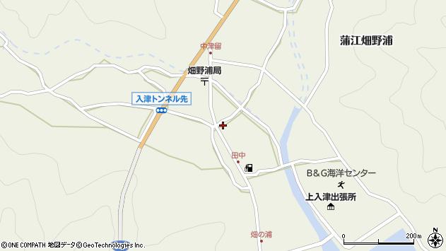 大分県佐伯市蒲江大字畑野浦621周辺の地図