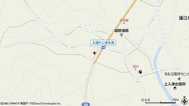 大分県佐伯市蒲江大字畑野浦882周辺の地図