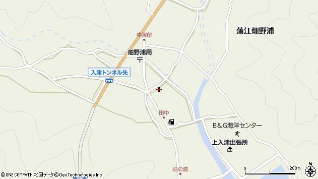 大分県佐伯市蒲江大字畑野浦622周辺の地図