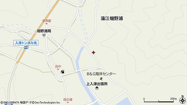 大分県佐伯市蒲江大字畑野浦2537周辺の地図