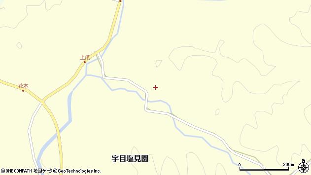 大分県佐伯市宇目大字塩見園2246周辺の地図