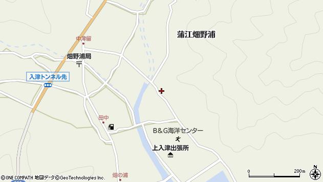 大分県佐伯市蒲江大字畑野浦2536周辺の地図