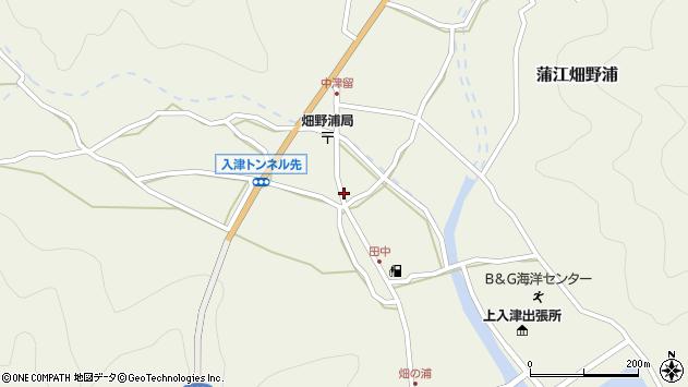 大分県佐伯市蒲江大字畑野浦658周辺の地図