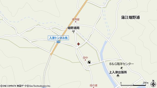 大分県佐伯市蒲江大字畑野浦657周辺の地図