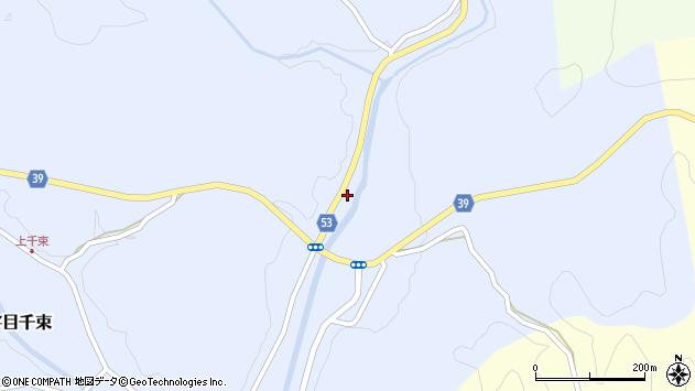大分県佐伯市宇目大字千束3078周辺の地図