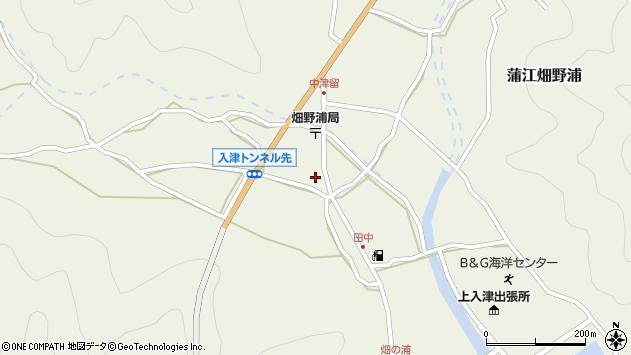大分県佐伯市蒲江大字畑野浦665周辺の地図