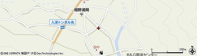 大分県佐伯市蒲江大字畑野浦655周辺の地図