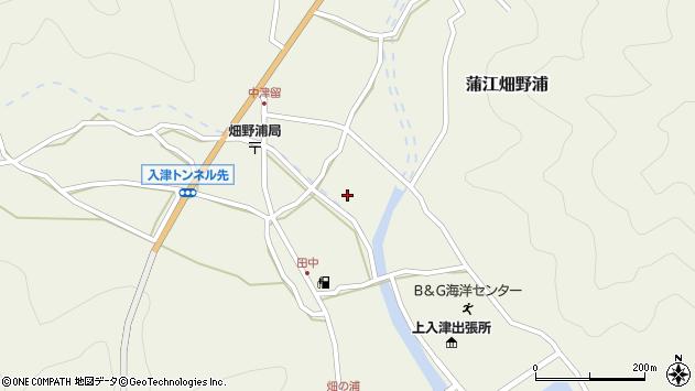 大分県佐伯市蒲江大字畑野浦1646周辺の地図