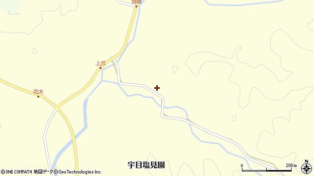 大分県佐伯市宇目大字塩見園2241周辺の地図