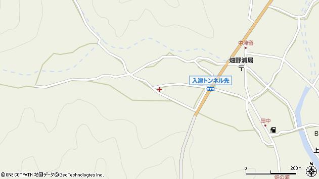 大分県佐伯市蒲江大字畑野浦930周辺の地図