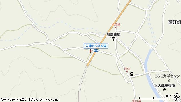 大分県佐伯市蒲江大字畑野浦719周辺の地図