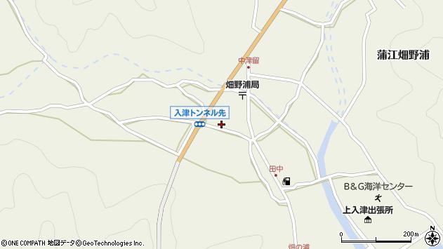 大分県佐伯市蒲江大字畑野浦702周辺の地図