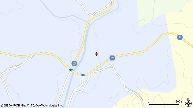 大分県佐伯市宇目大字千束3043周辺の地図