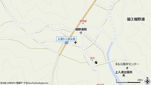 大分県佐伯市蒲江大字畑野浦667周辺の地図