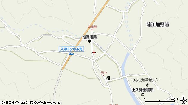大分県佐伯市蒲江大字畑野浦656周辺の地図