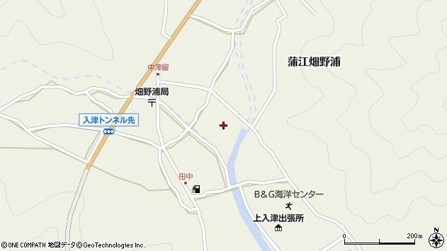 大分県佐伯市蒲江大字畑野浦1652周辺の地図