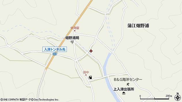 大分県佐伯市蒲江大字畑野浦1647周辺の地図