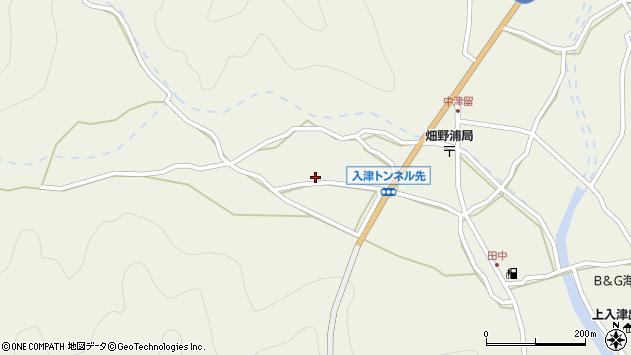 大分県佐伯市蒲江大字畑野浦726周辺の地図