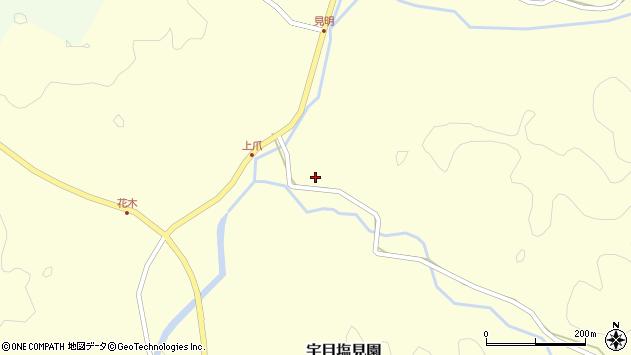 大分県佐伯市宇目大字塩見園2228周辺の地図