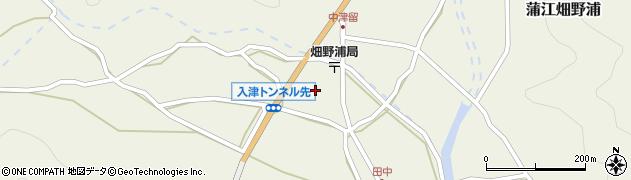大分県佐伯市蒲江大字畑野浦663周辺の地図