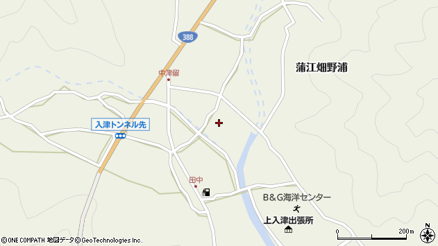 大分県佐伯市蒲江大字畑野浦1649周辺の地図