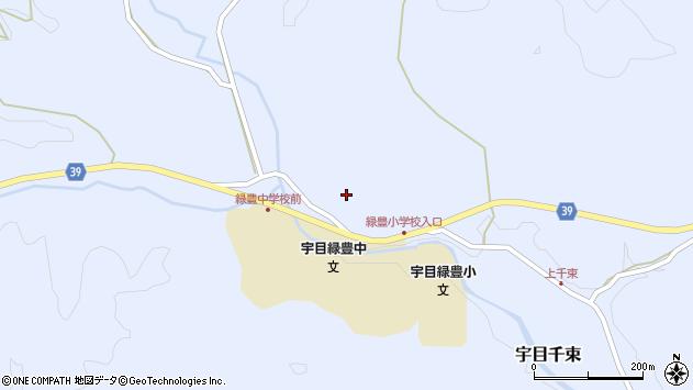 大分県佐伯市宇目大字千束1677周辺の地図