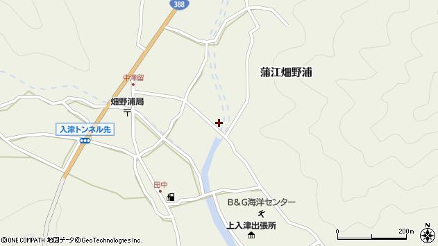 大分県佐伯市蒲江大字畑野浦1642周辺の地図