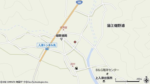 大分県佐伯市蒲江大字畑野浦1634周辺の地図