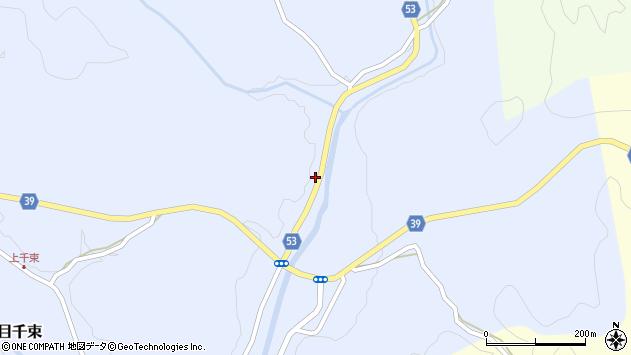 大分県佐伯市宇目大字千束3074周辺の地図