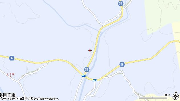 大分県佐伯市宇目大字千束3089周辺の地図